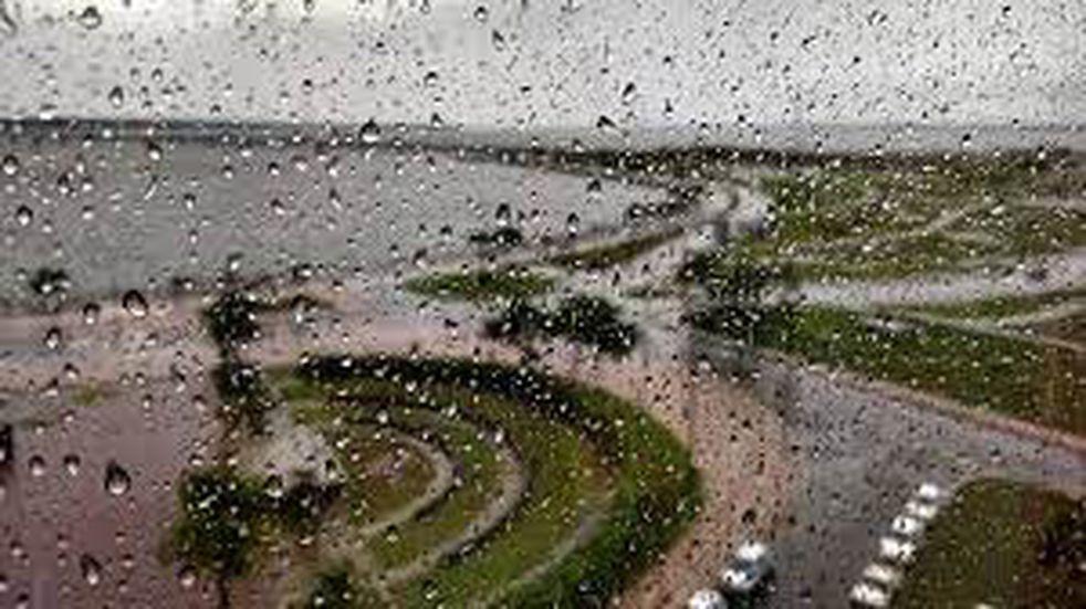 Martes con lluvias y tormentas en la provincia.
