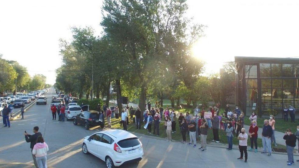 Sunchales: bocinazo por seguridad y pedido de juicio político a fiscales