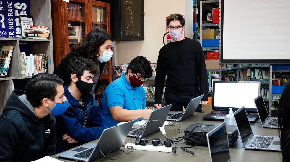 Estudiantes de Las Heras se capacitan en el programa Mendoza Futura