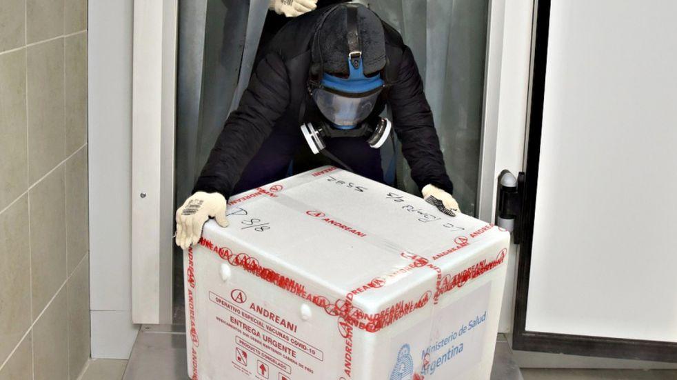 Llegaron 6.750 dosis de las vacunas Sputnik y Sinopharm a La Pampa