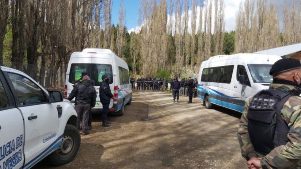 Toma en El Foyel: levantaron el corte de ruta y cuatro integrantes de la comunidad mapuche fueron detenidos