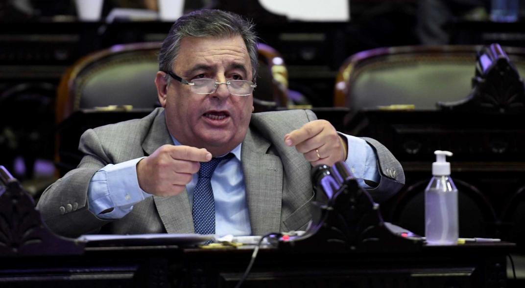 Mario Negri es pieza clave en la estructura de Juntos por el Cambio en Diputados. (Federico López Claro)