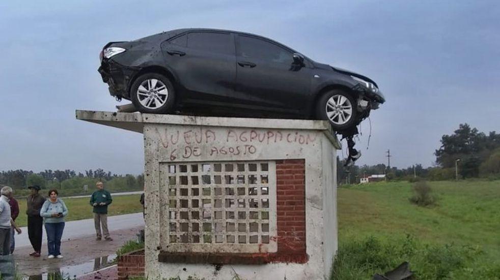 El accidente ocurrió el pasado lunes 20 de septiembre en la Autovía Artigas