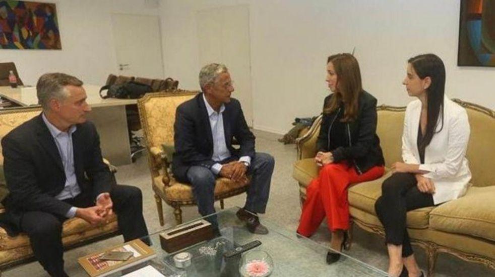 Quiroga se reunió con Vidal y habló sobre seguridad y narcotráfico