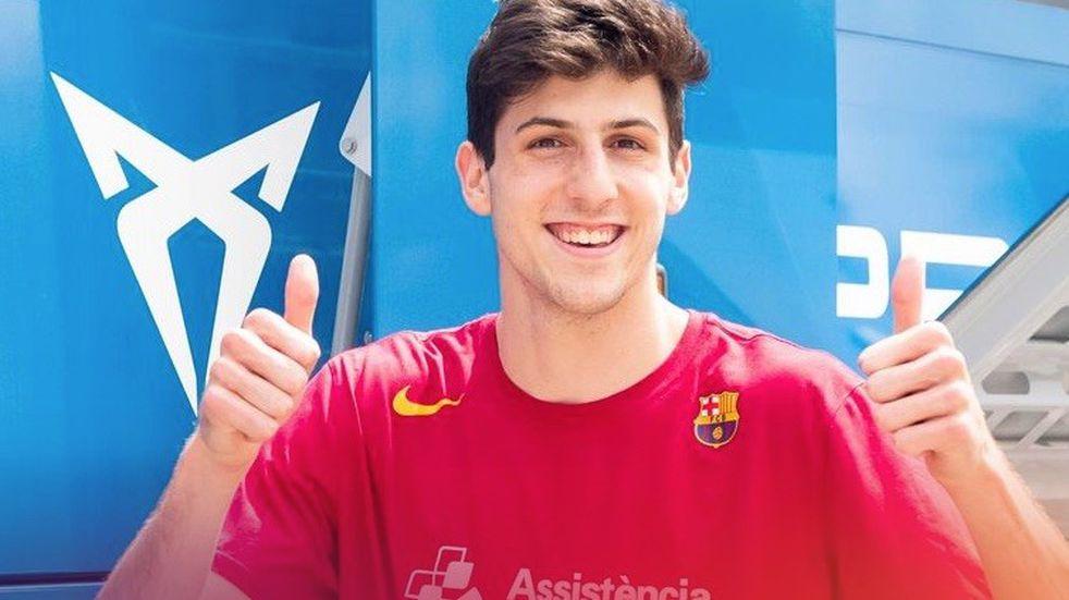 El varillense Leandro Bolmaro renovó con el Barcelona
