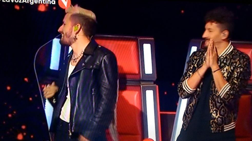 Marcos, Esperanza y Tomás eligieron a Mau y Ricky para dar batalla en La Voz Argentina