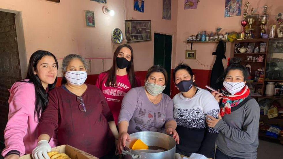 Merendero del barrio Terraplén en Pérez pide donativos para el día del niño