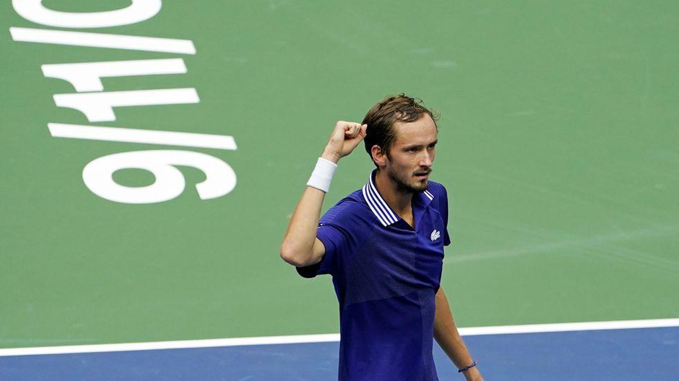 US Open: Medvedev le ganó a Novak Djokovic y le arrebató un logro histórico