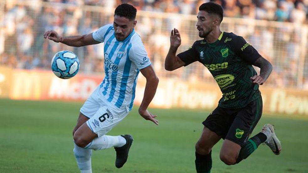 Atlético Tucumán goleó 5 a 0 a Defensa y Justicia y esperar el milagro para la clasificación