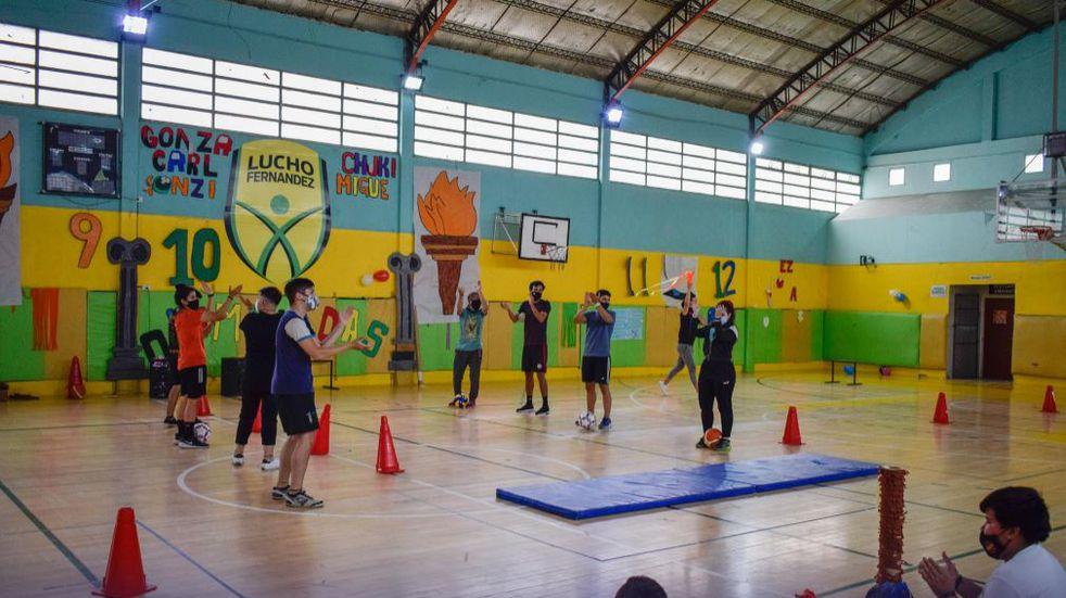 Colonias lúdico deportivas y la experiencia de trabajar en pandemia