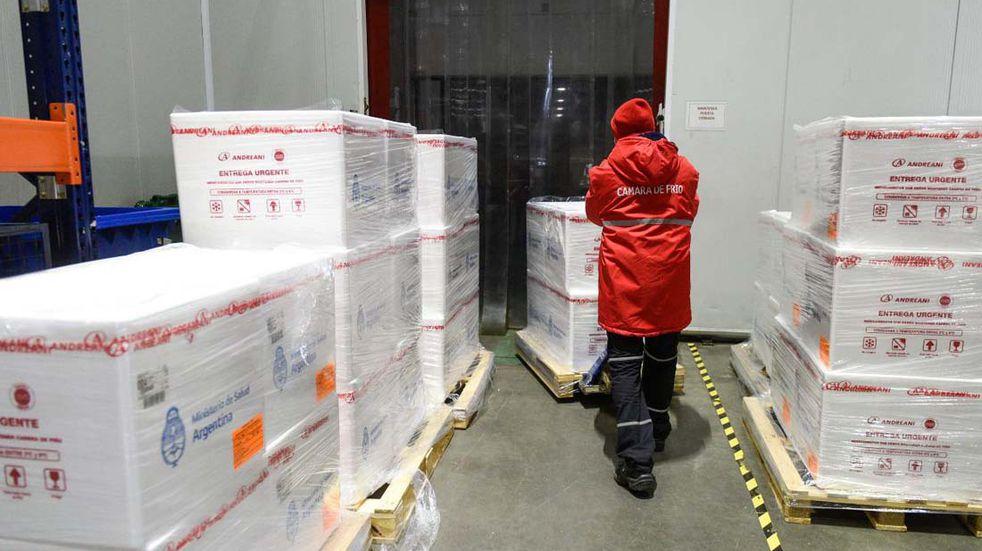 Córdoba recibió una nueva partida de vacunas: 39 mil de Sputnik V