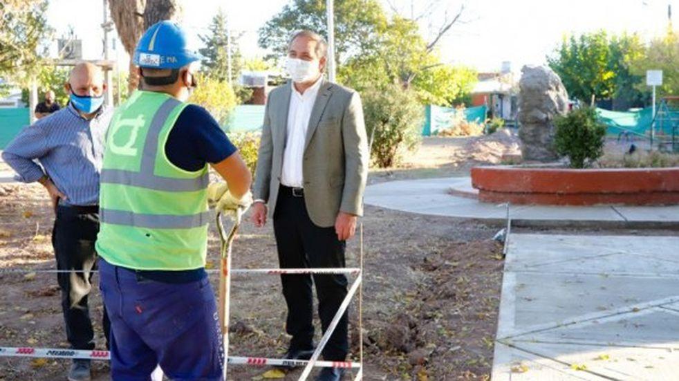 Maipú remodelará la plaza del barrio AOMA en Russell