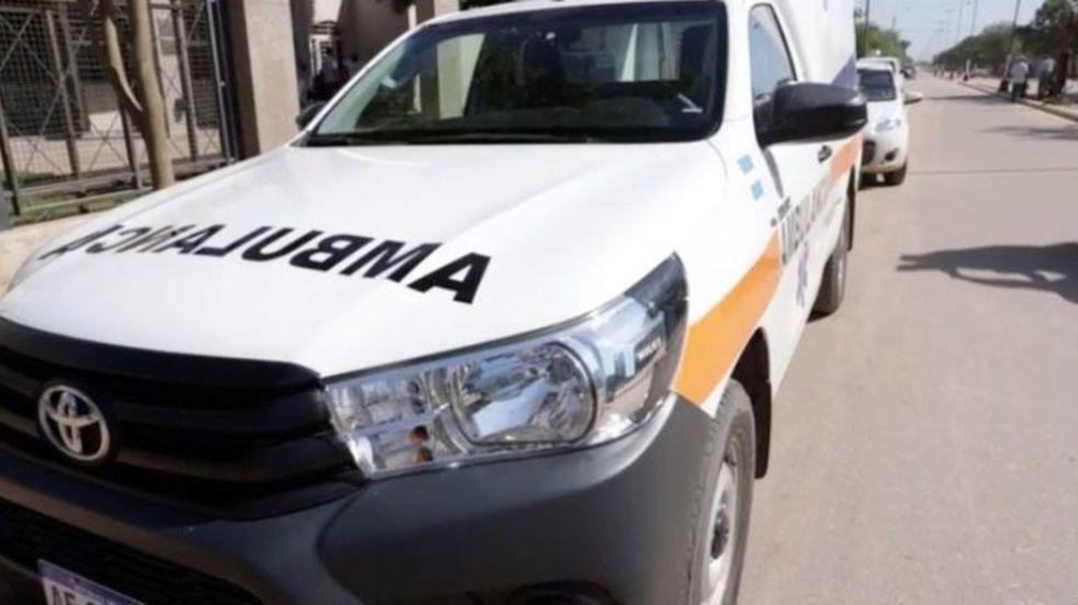Entregan una ambulancia en el municipio de Rivadavia Banda Sur. (Gob de la Provincia de Salta)