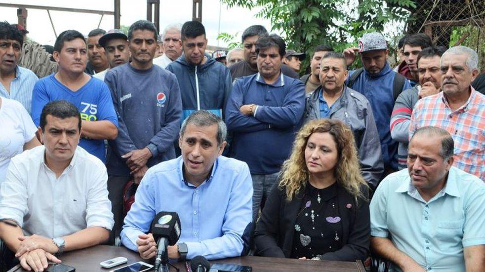 Paredes Urquiza exige al gobernador Casas que incorpore el bono al salario