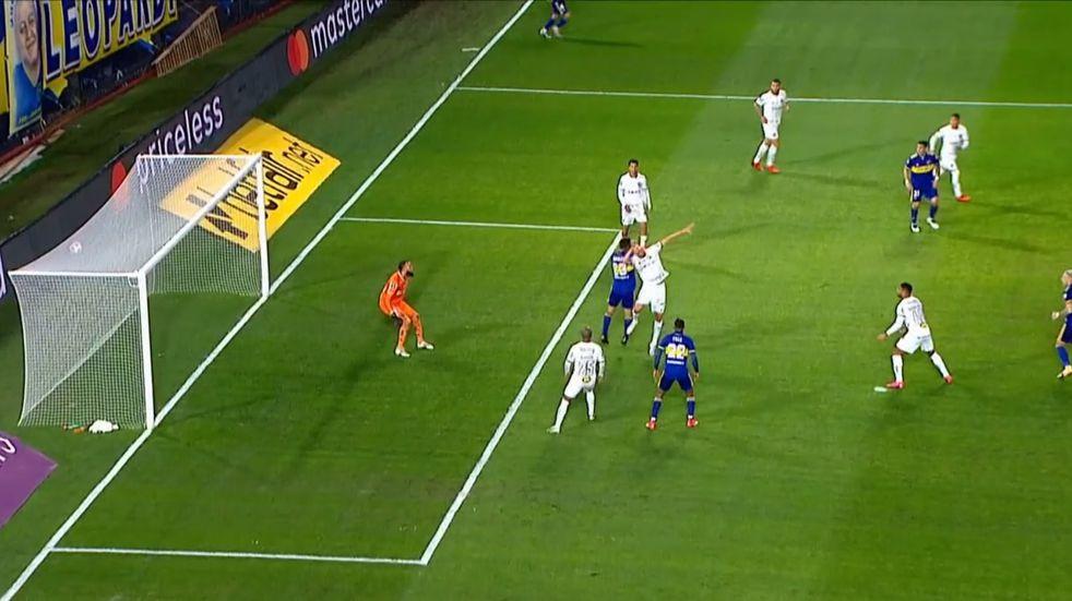 "Copa Libertadores: el gol que le anularon al ""Pulpo"" González en Boca-Atlético Mineiro"