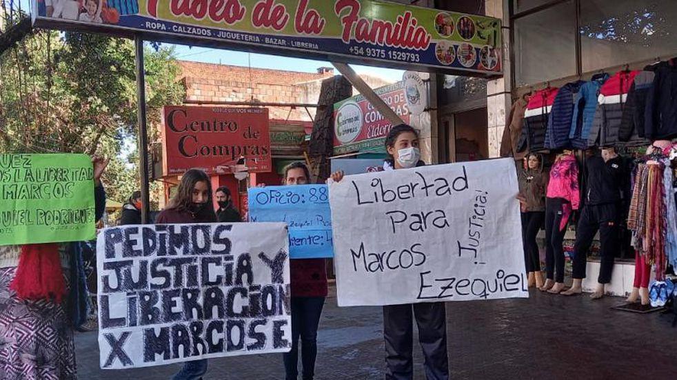 Eldorado: piden por la liberación del joven que mató a un ladrón en un intento de robo