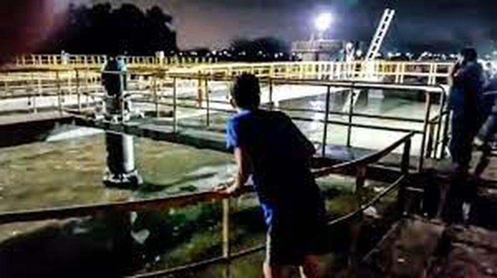San Vicente: nene de 8 años murió ahogado en el piletón de una planta depuradora