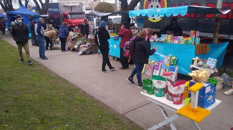El Plan Federal de Ferias celebra 100 días sumando puestos de trabajo y delivery a todos los barrios