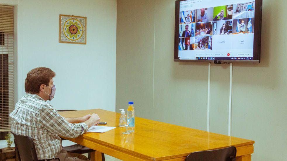 Melella participó de un encuentro con la Ministra de Salud de Nación y los gobernadores de la Patagonia
