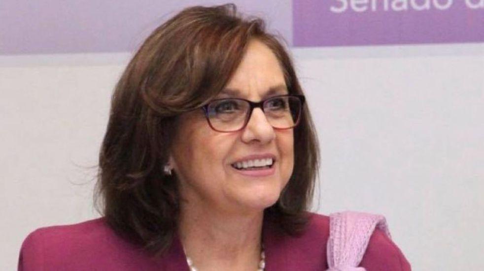 Descuido virtual de una senadora mexicana (Web)
