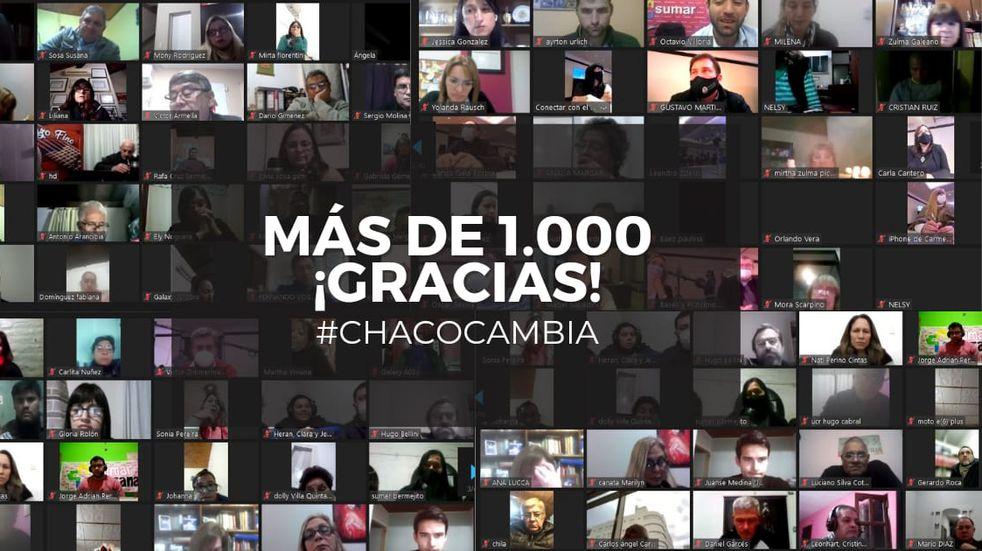 """Chaco: la UCR presentó la alianza """"Chaco Cambia"""""""