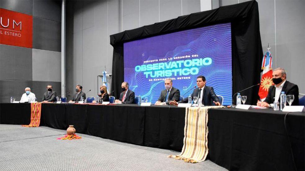 Firmaron el acta de creación del Observatorio Turístico de Santiago del Estero