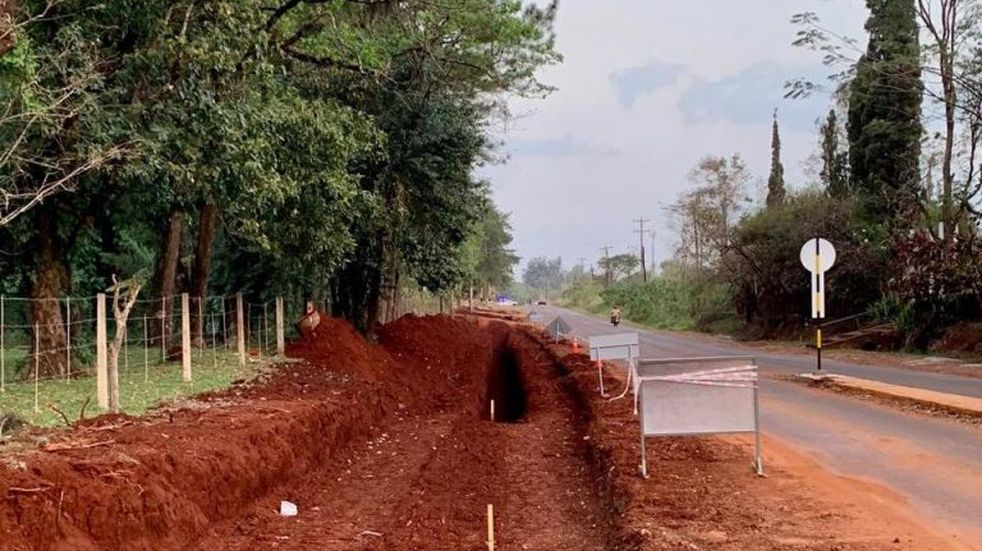 Vialidad y la municipalidad de Oberá trabajan para mejorar accesos a la ciudad