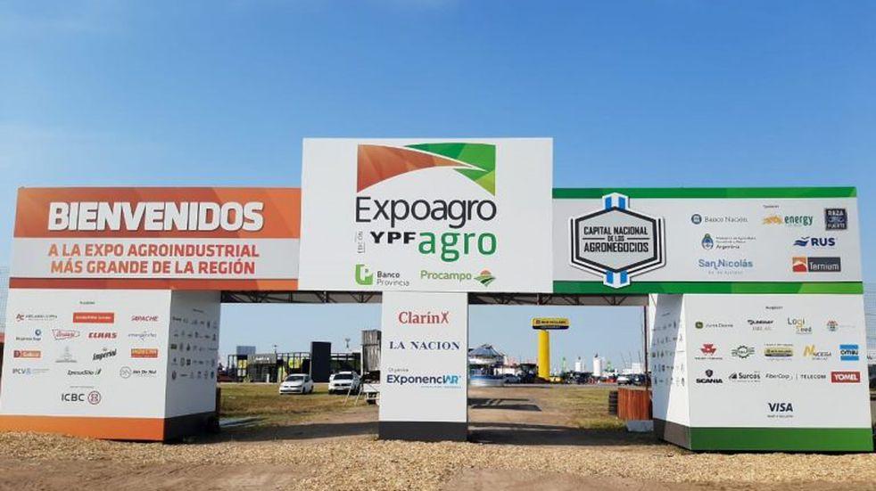 Ya abrió sus puertas la Expoagro 2020 edición YPF