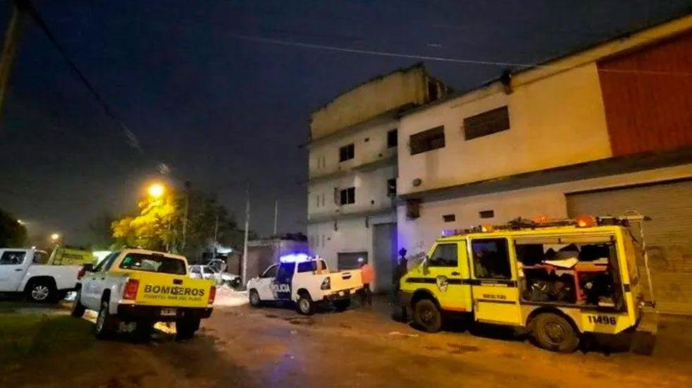 Mar del Plata: una mujer murió y otra resultó herida tras un derrumbe por una explosión