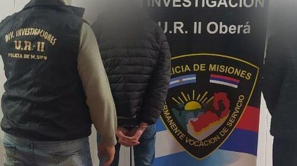 Detienen a presuntos  integrantes de una banda delictiva en Oberá