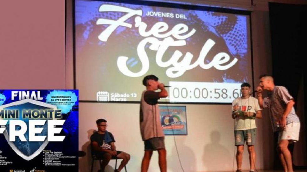 Convocatoria para competencia de Freestyle en Montecarlo este fin de semana