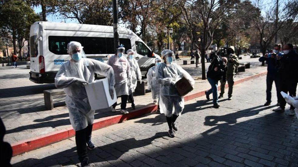 Dieron negativo los tests a los residentes del geriátrico de Villa Allende