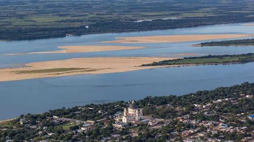 Bajante del Paraná: el río bajó a medio metro de altura en Chaco
