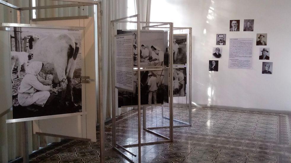 """Muestra fotográfica en el Museo Histórico: """"Lechería… del tambo a la mesa"""""""