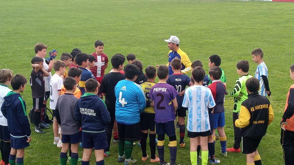 Boca Juniors prueba jugadores en Tres Arroyos