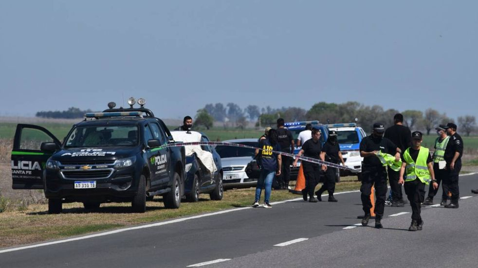 Un policía vial mató a su ex pareja en plena ruta. (Sur24)