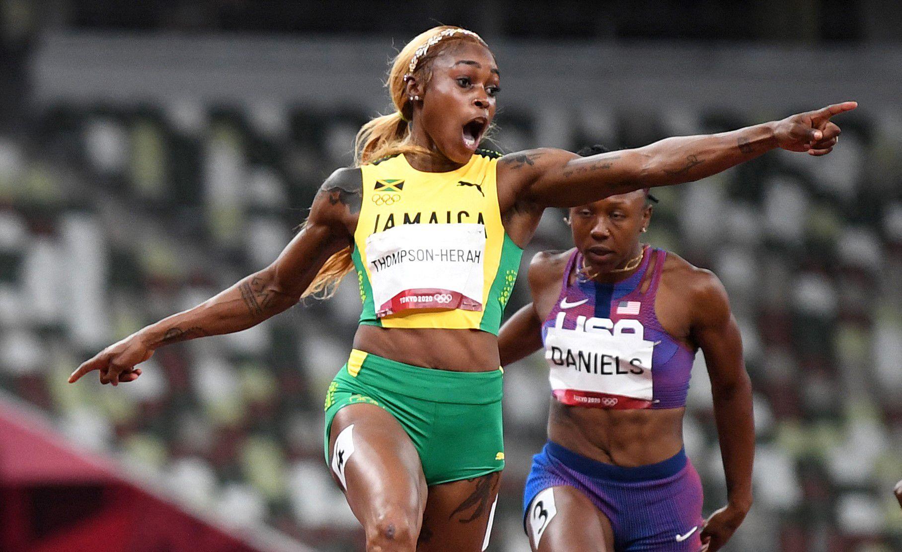 Elaine Thompson-Herah se consagró como bicampeona olímpica