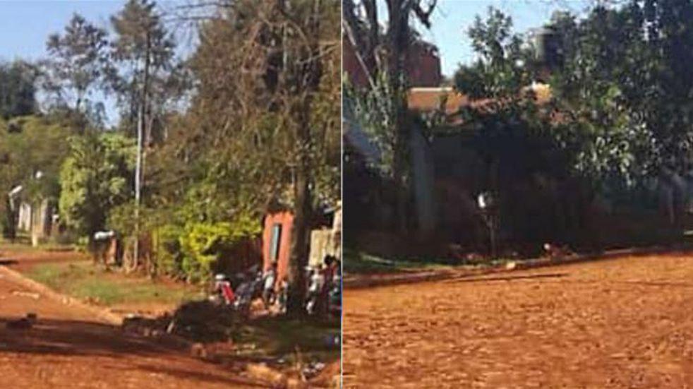 Siguen los arreglos de calles en distintas Zonas de Iguazú