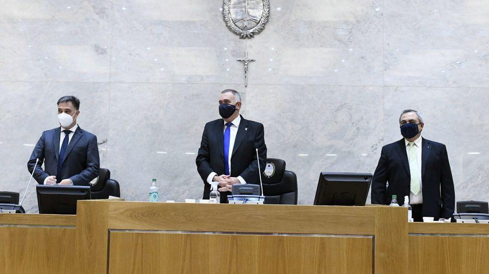 """Osvaldo Jaldo sobre Manzur: """"Hace tiempo no tengo trato y no converso con el gobernador"""""""