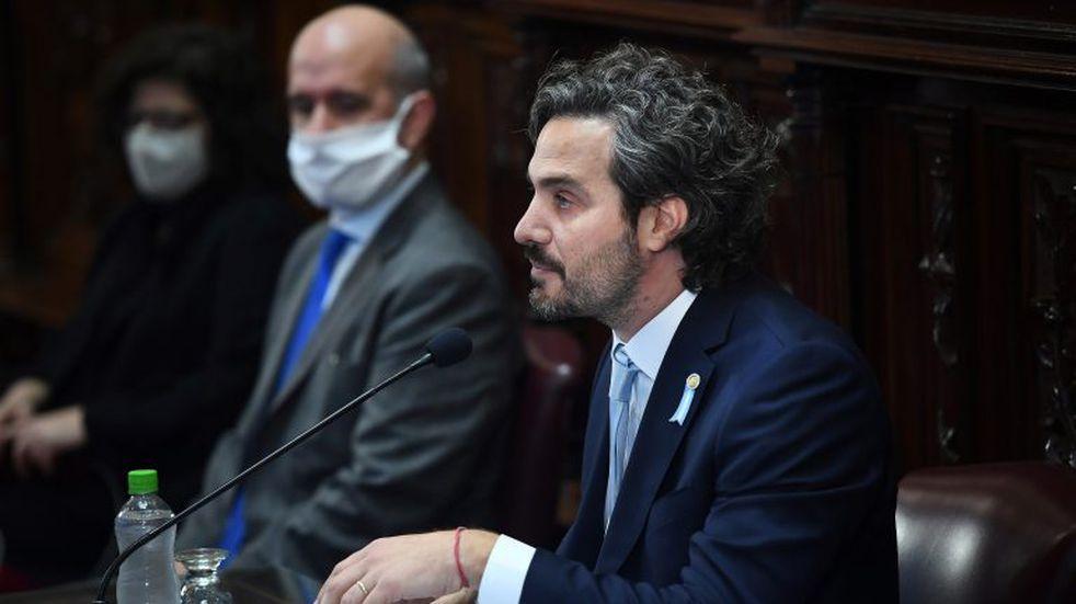 Cafiero reclamó terminar con el odio y la oposición le pidió que muestre el plan económico
