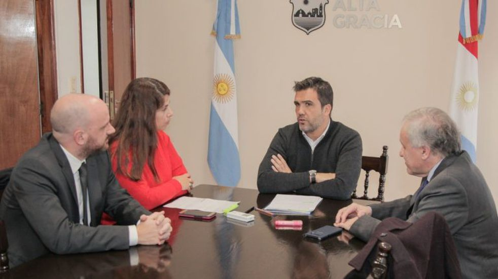 El intendente Facundo Torres recibió a las autoridades del Colegio de Abogados de Alta Gracia y de la Provincia