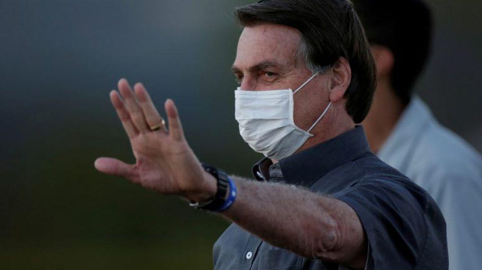 Jair Bolsonaro volvió a dar positivo en la tercera prueba de coronavirus