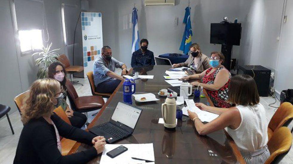 Buscan fortalecer la red de trabajo entre los Hospitales del Área Programática Sur