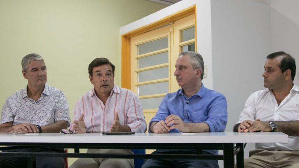 Passalacqua y Rovira inauguraron la Escuela de Innovación Tecnológica