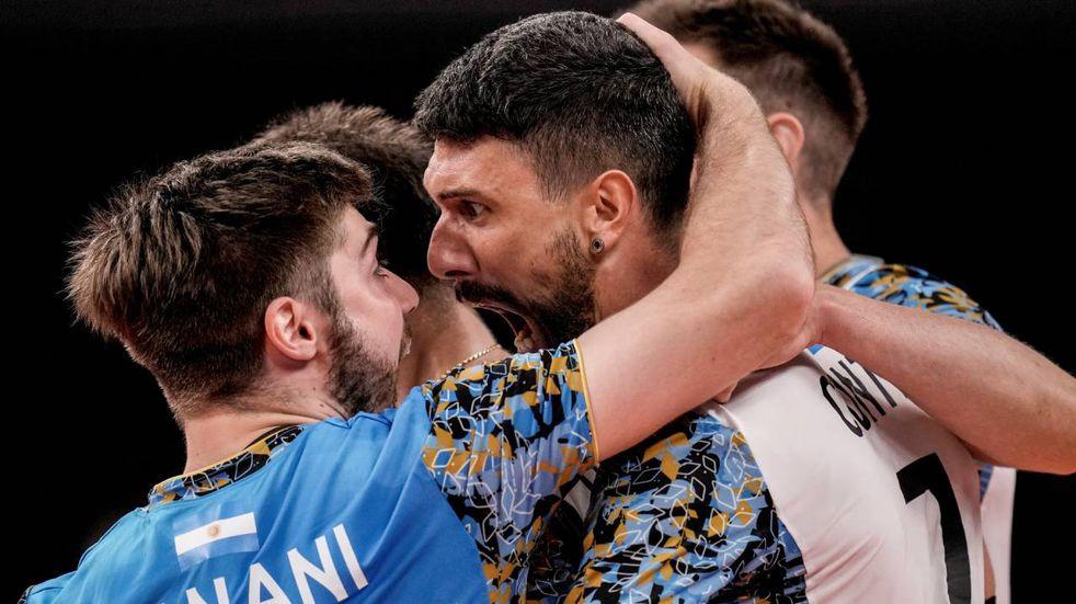 El emocionante relato de la victoria del vóley frente a Italia