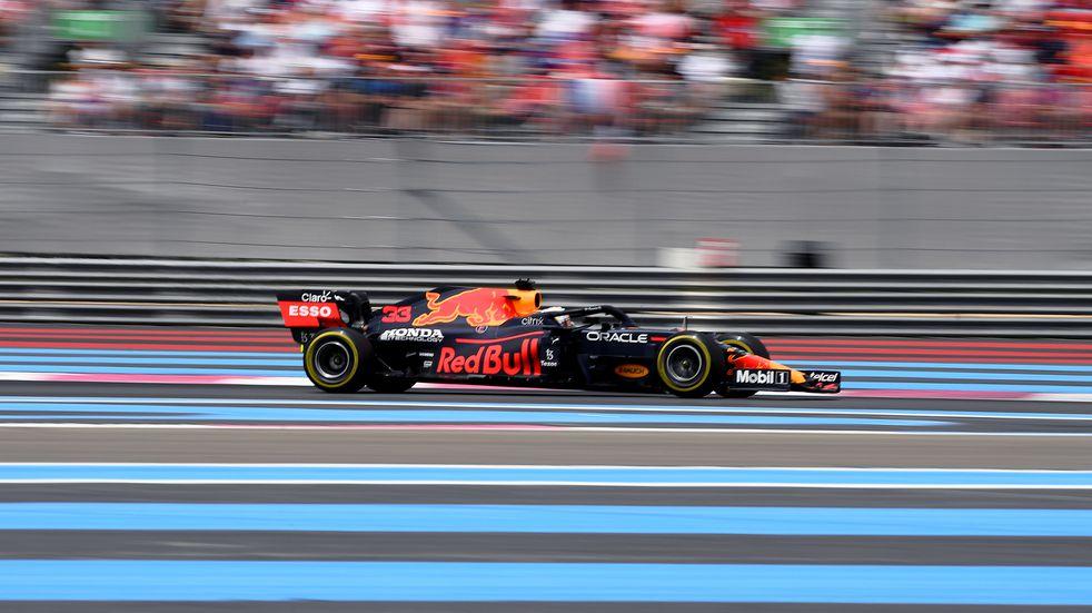 F1: Verstappen se impuso en Francia, escoltado por Hamilton y Checo Pérez