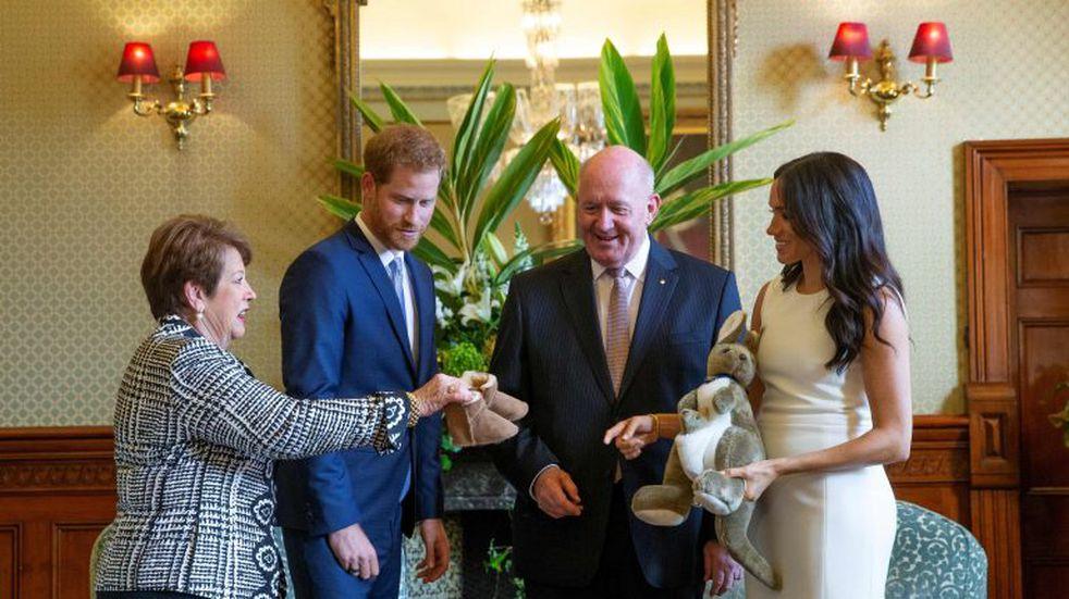 Australia: así festejan la llegada del bebé de Meghan Markle y el príncipe Harry