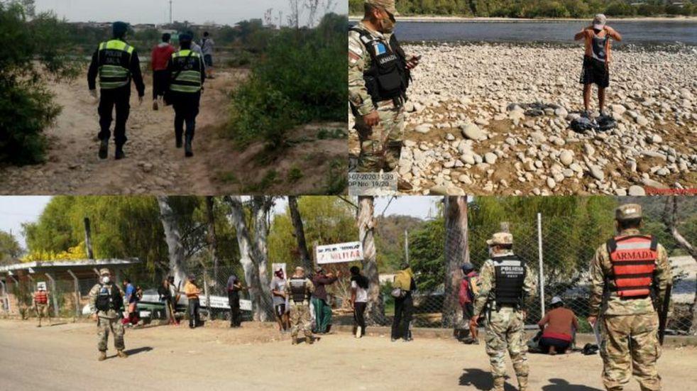 Frontera caliente: deportaron a más de 100 bolivianos que entraron a Salta por pasos clandestinos