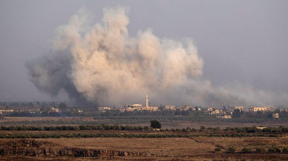 Siria lanzó tres cohetes hacia Israel en apoyo a Palestina