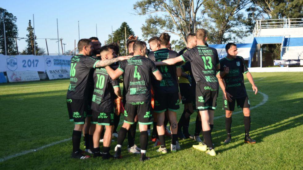 Con un gol sobre la hora de Gaviglio, el Verde de San Francisco se quedó con el triunfo. (Prensa Sportivo Belgrano)